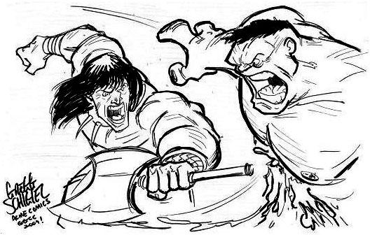 GGCC_Conan v Hulk