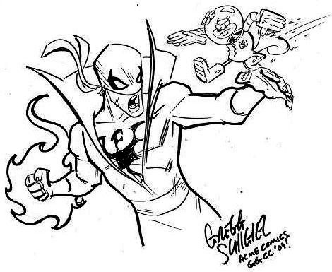 GGCC_Iron Fist v Sandy Cheeks