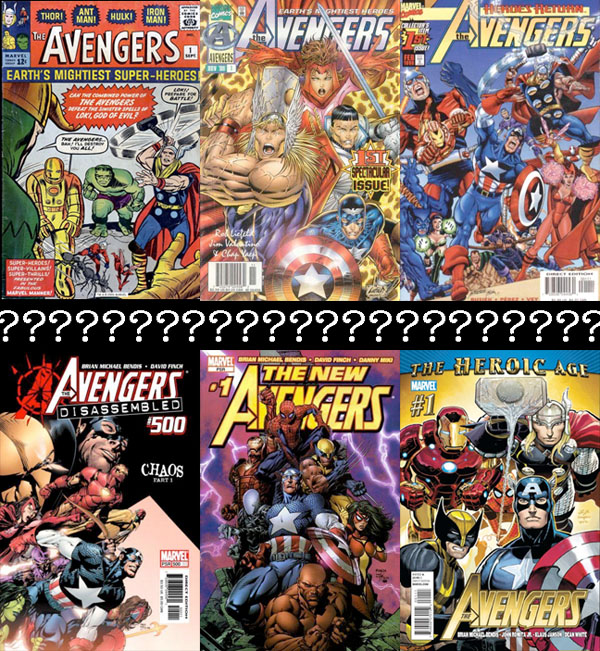 Avengers_Covers